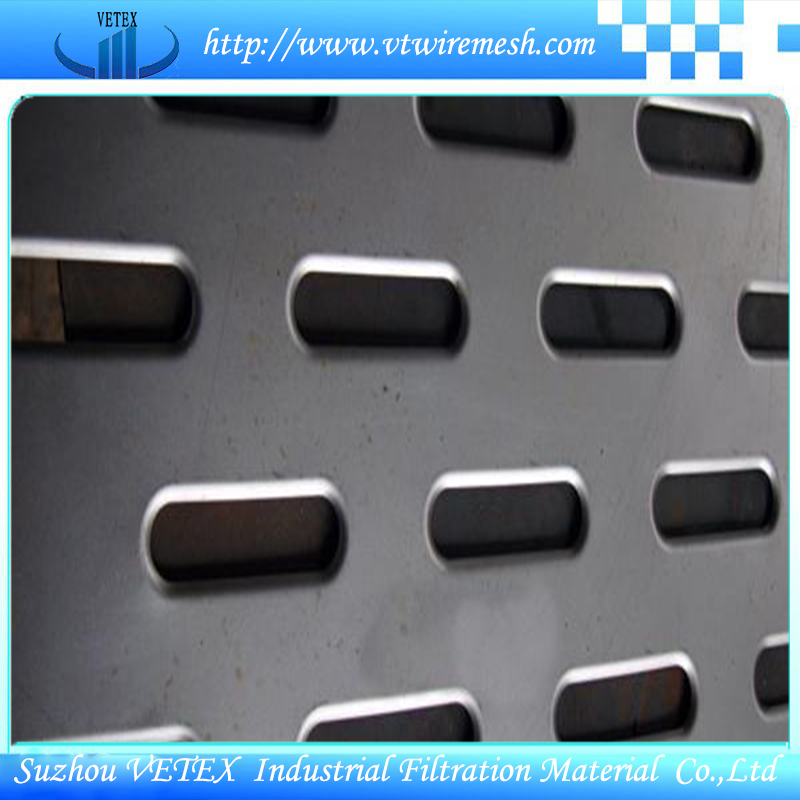 Noise Reduction Stainless Steel Perforated Wire Mesh