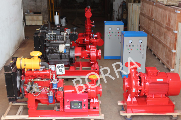 Diesel Centrifugal Fight Fighting Water Pump