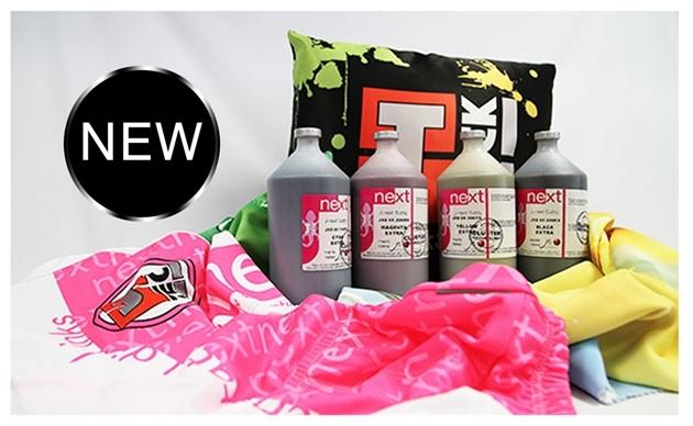 J-Cube Kf40/RF40 Sublimation Ink C. M. Y, K 4 Color for Sublimation Textile