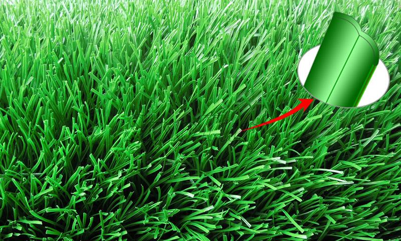 Anti-UV Wear-Resisting Artificial Turf Grass for Soccer, Playground, Hockey