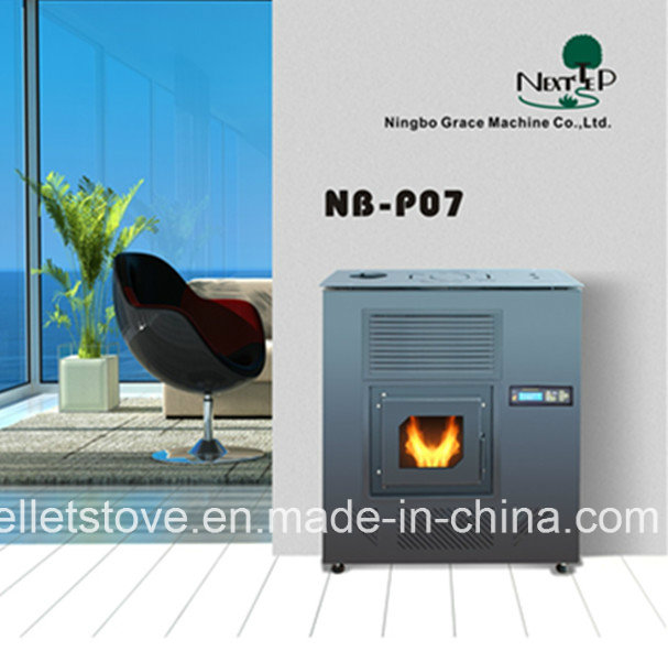 8 Kw Europea-style Automatic Pellet Stove with Remote Control