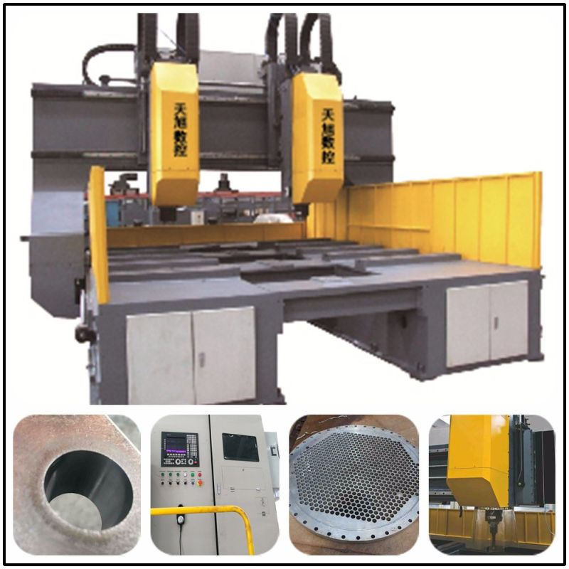 Tphd3020 High Speed CNC Drilling Machine for Tube Sheets