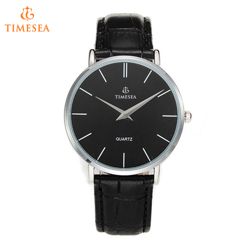 Casual Japan Movement Mens Genuine Leather Analog Quartz Watch 72372