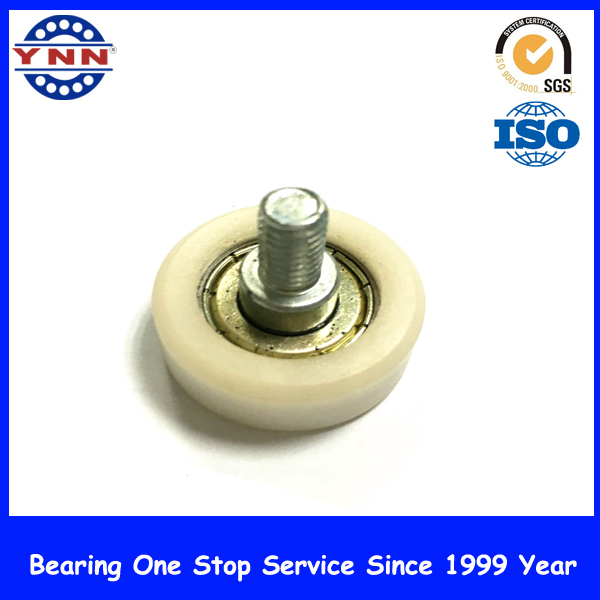 Plastic Rubber Coated Steel Deep Groove Ball Bearings for Sliding Door