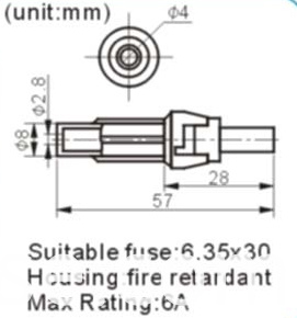 Fuse for 5X20mm Glass Fuse Holder (FBELE)
