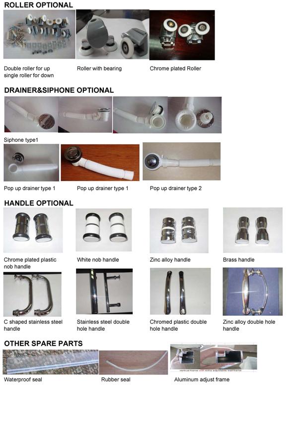 Simple Shower Enclosure (E-16)