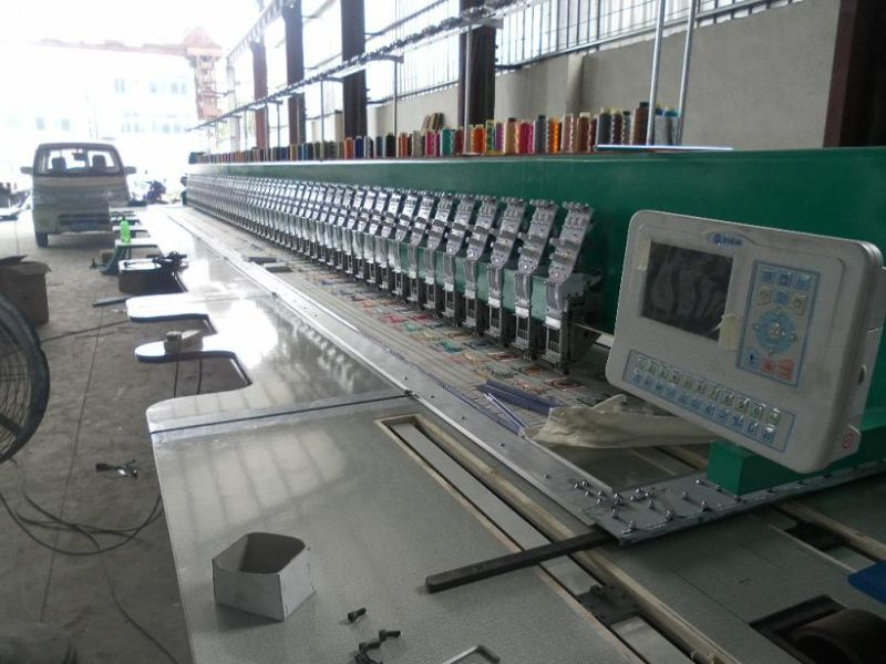 58 Heads Flat Embroidery Machine (Big and Strong)