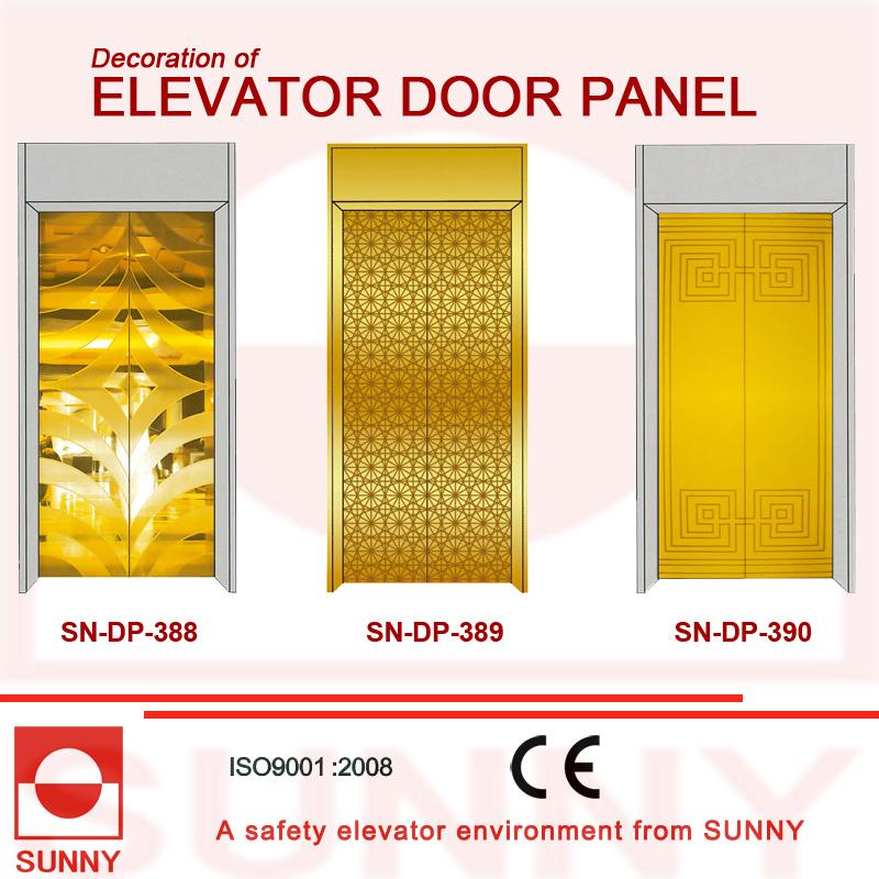 St. St Etching Door Panel for Elevator Cabin Decoration (SN-DP-385)