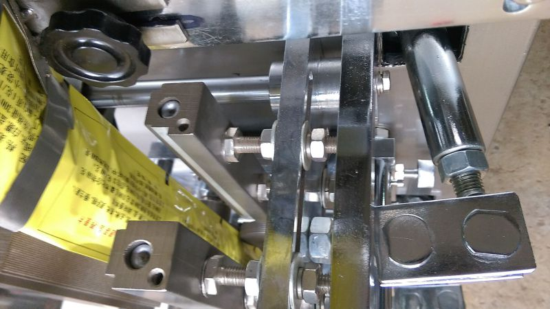 Sugar Sachet Packing Salt Packet Film Packing Machine Ah-Klj100