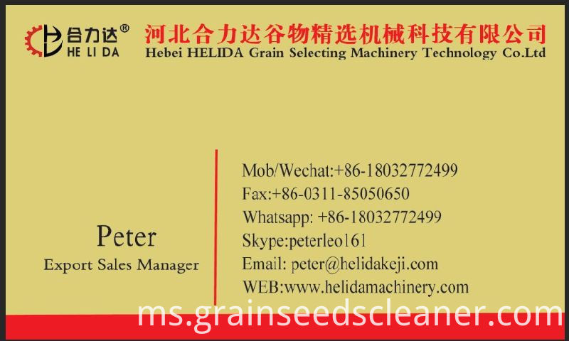 Grain Bean Seed Cleaner Cleaning Machine / Seed Grain Cleaner Grader / Cleaner Jagung untuk Dijual