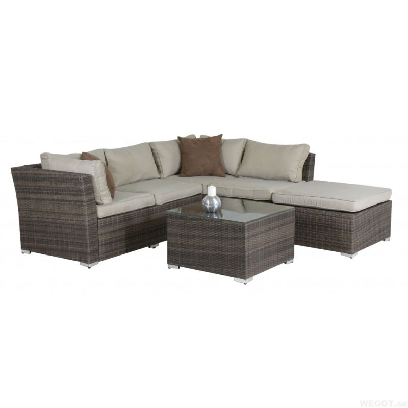 Wicker Patio Lounge Sofa Set Outdoor Garden Rattan Furniture