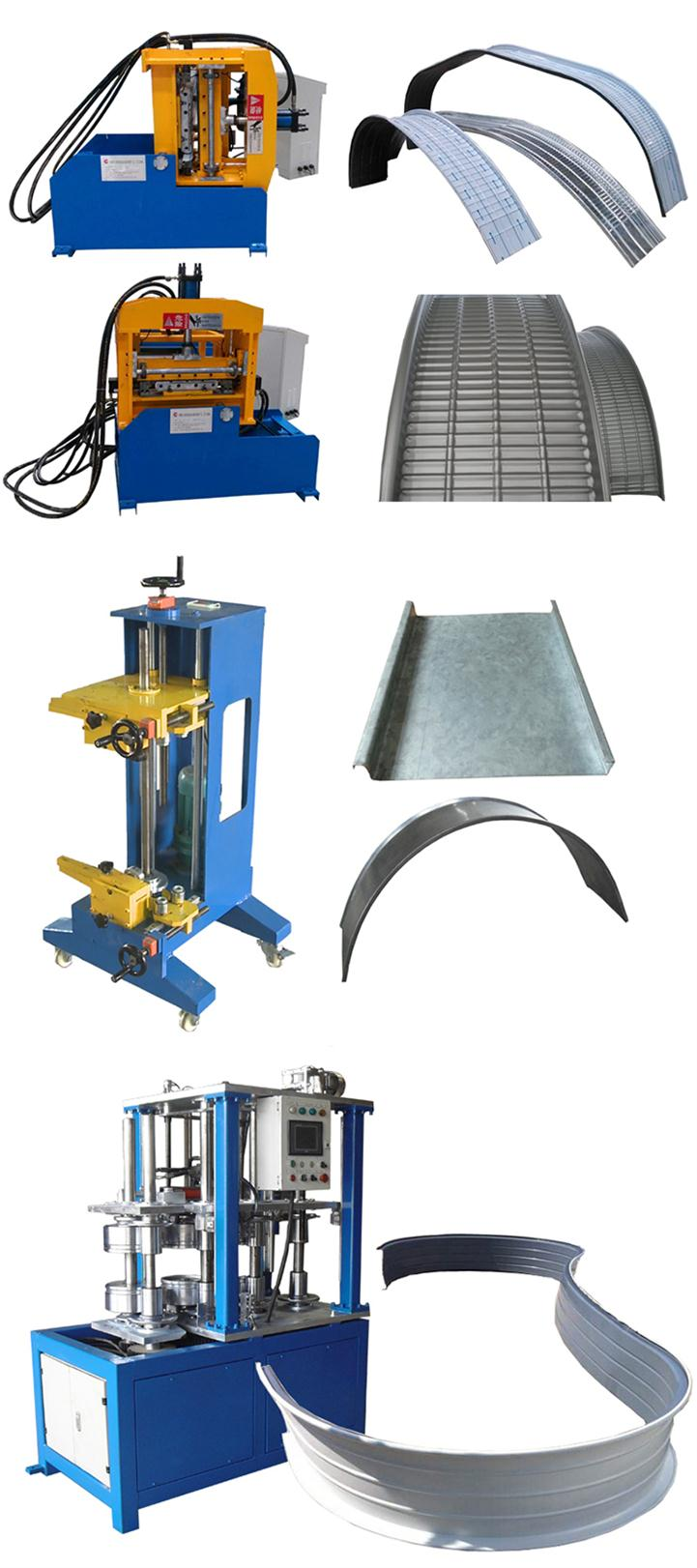 Hot Market Requirement Automatic Hydraulic Roof Crimping Metal Sheet Bending Machine From China Trusty Manufacturer