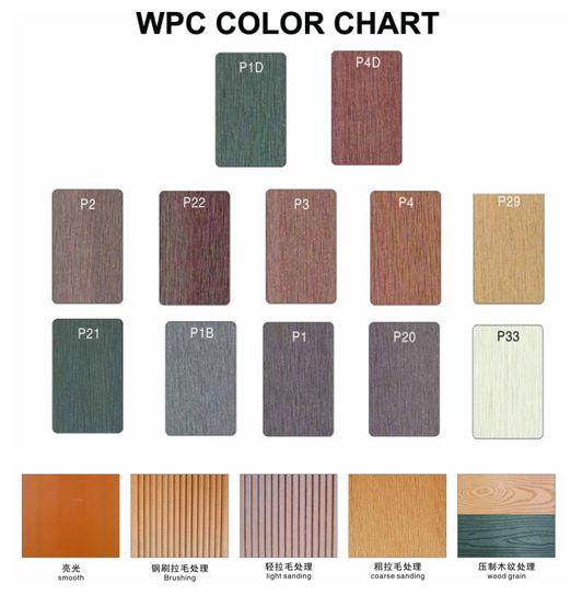 Color Mix WPC Decking, WPC Flooring