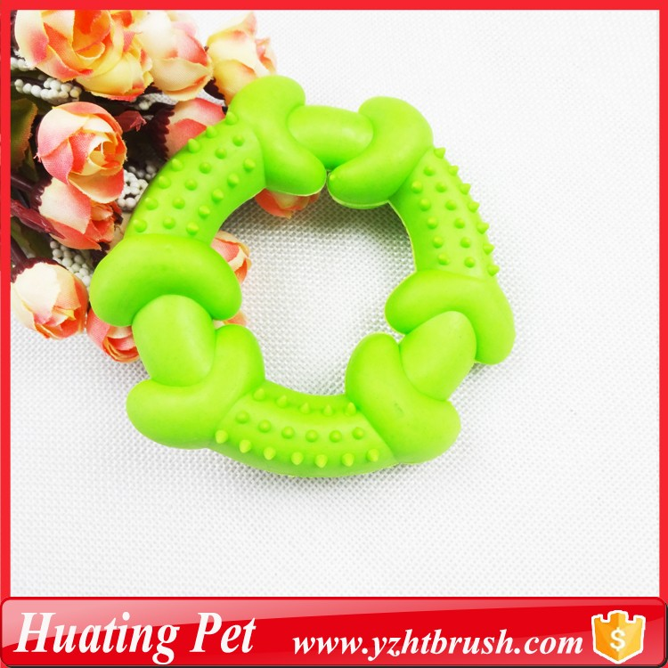 soft color TPR rubber dog toy