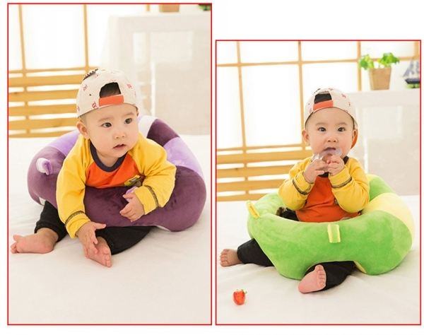 Plush Stuffed Baby Toddler Dining Sitting Chair, Game Seating