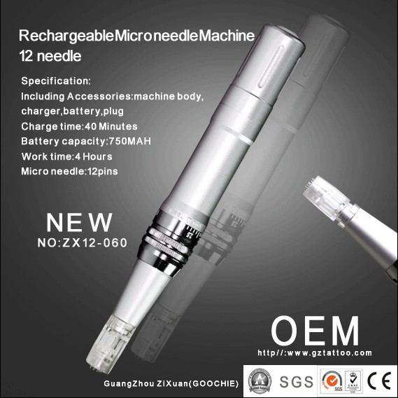 2016 Super Effective Goochie Derma Pen for Salon Use