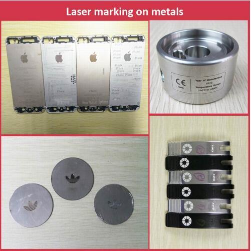 20W Automatic Laser Marking Machine/Metal Laser Engraving Machine