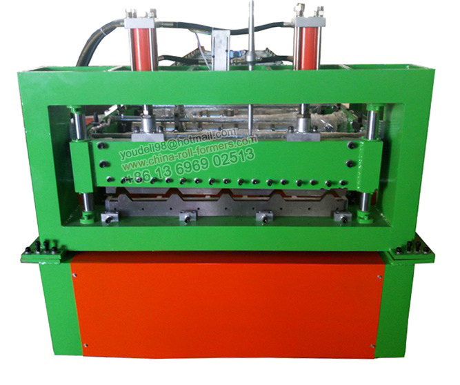 Best Price Color Steel Trapezoidal Profile Roofing Roll Forming Machinery