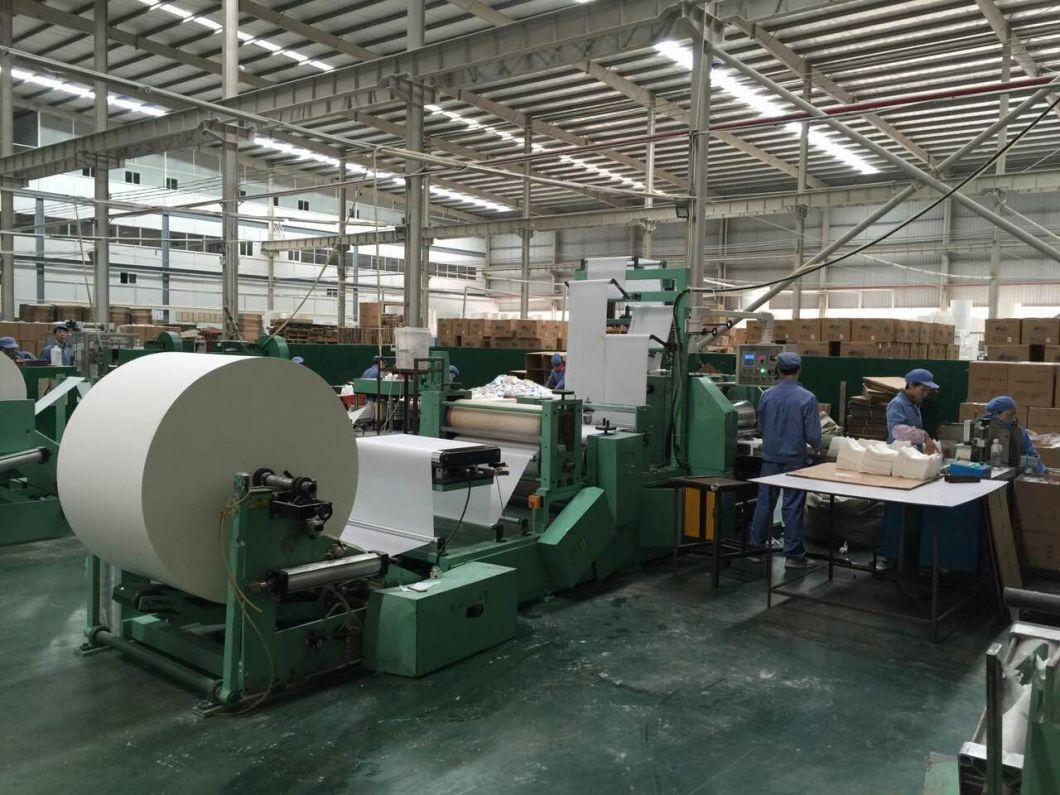 Double Row Suction Type Table Napkin Paper Machine