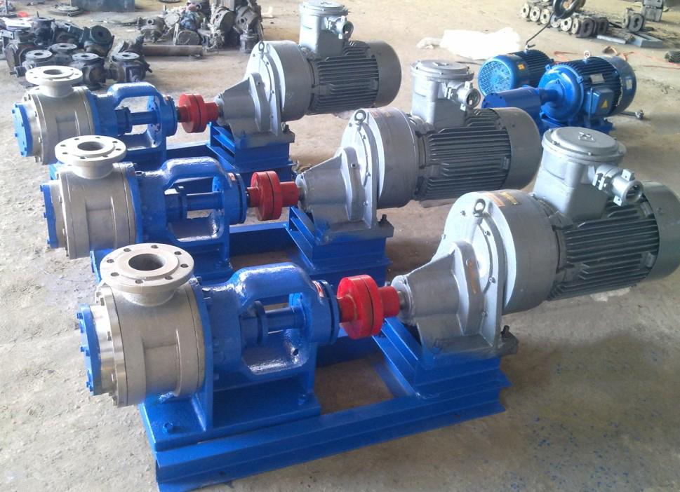 material rotor pump