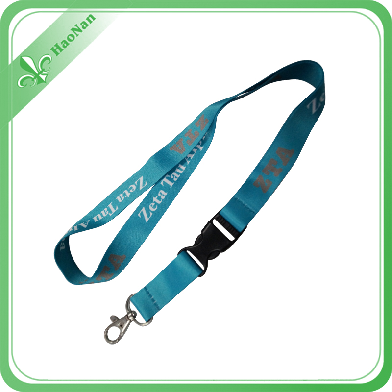 Cheap Promotion Printing Lanyard with Polyester Material with Metal Buckle