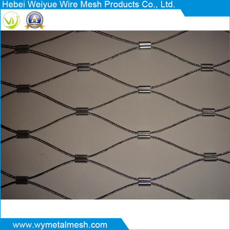 Stainless Steel Wire Rope Net for Animal