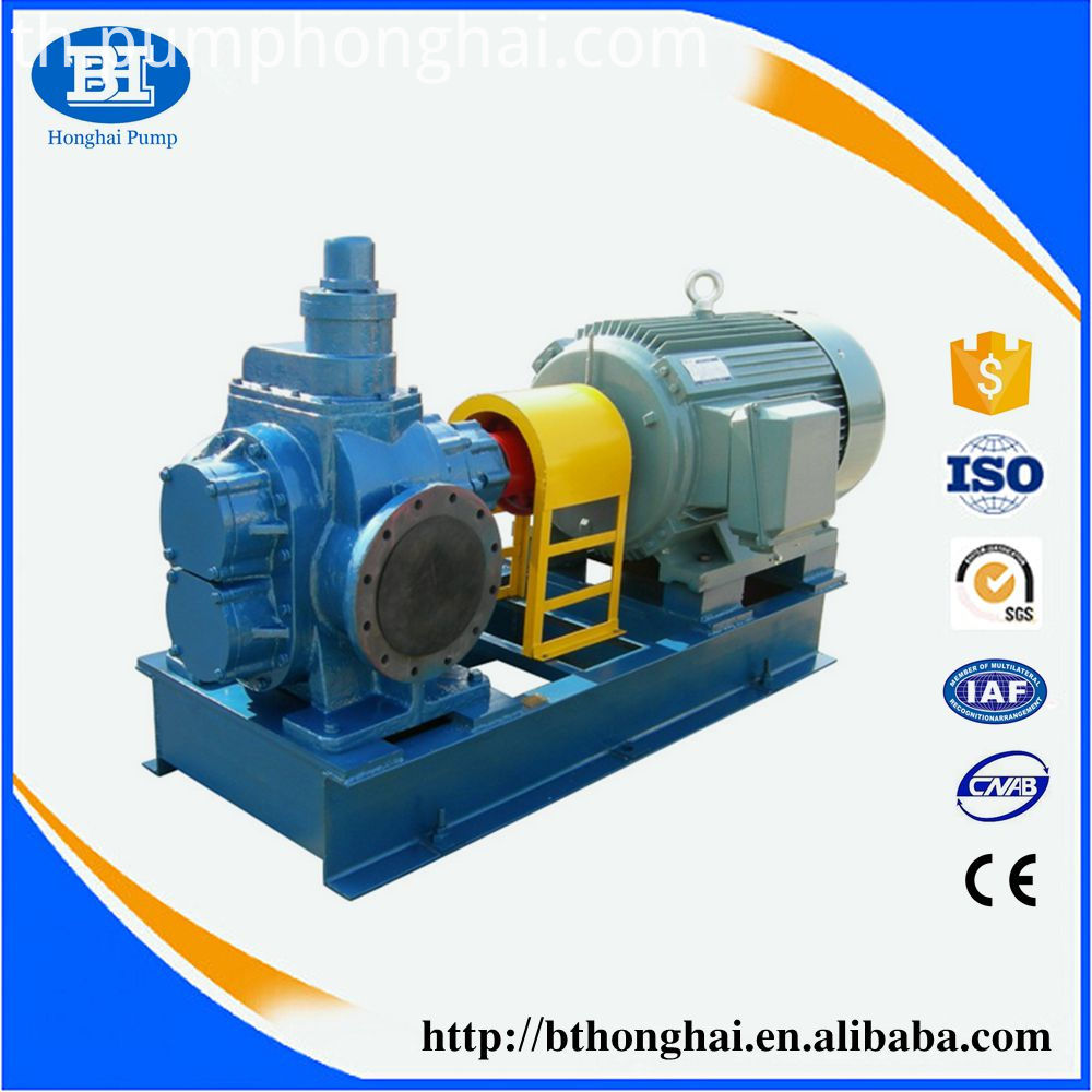 YCB series oil delivery circular arc wheel pump