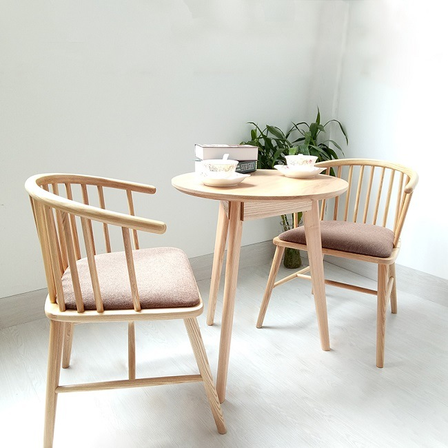 Modern Wood Dining Chair for Restaurant Cafe Furniture