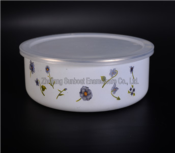 5 PCS Enamel Storage Salad Bowl