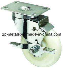 6.4inch Scaffolding Rubber Caster Wheels