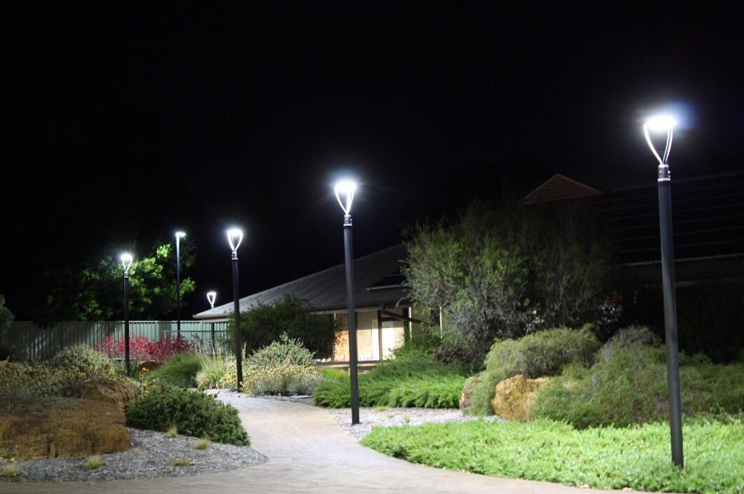 Photocell Sensor UL Approved High Quality 100W LED Post Top Fixture Light