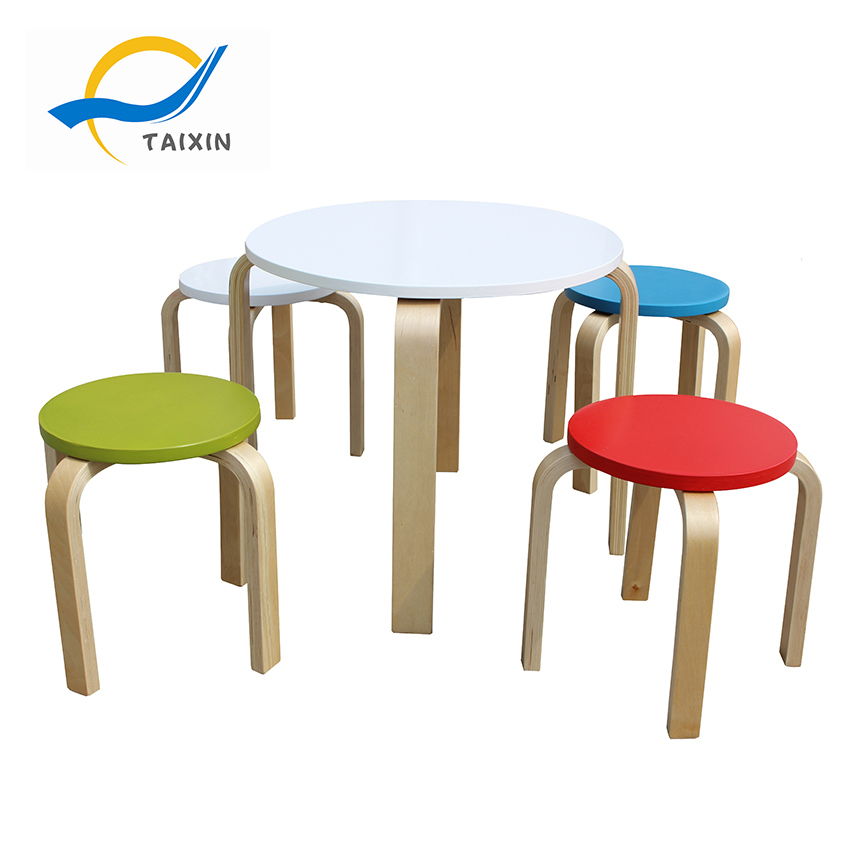 Modern Kitchen Furniture Dining Table Chairs for Kids