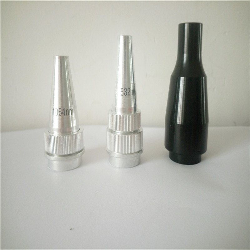 Laser Parts 1064 Nm 532 Nm Laser Tip Head Probe for Color Tattoo Black Doll Laser Tips for Sale
