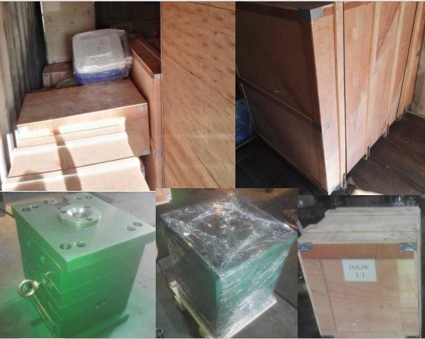 Plastic 660L Dustbin Injection Mould, 660 Liter Waste Bin Mold