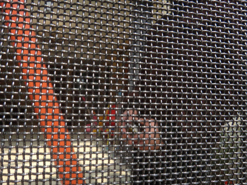 Stainless Steel Security Window Screen, Bullet-Proof Mesh