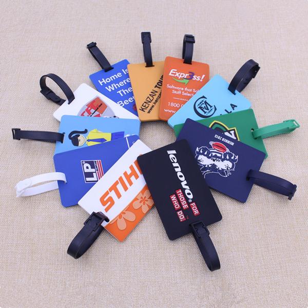 Standard Size Bulk Luggage Tags, Custom Luggage Tag, PVC Luggage Tag