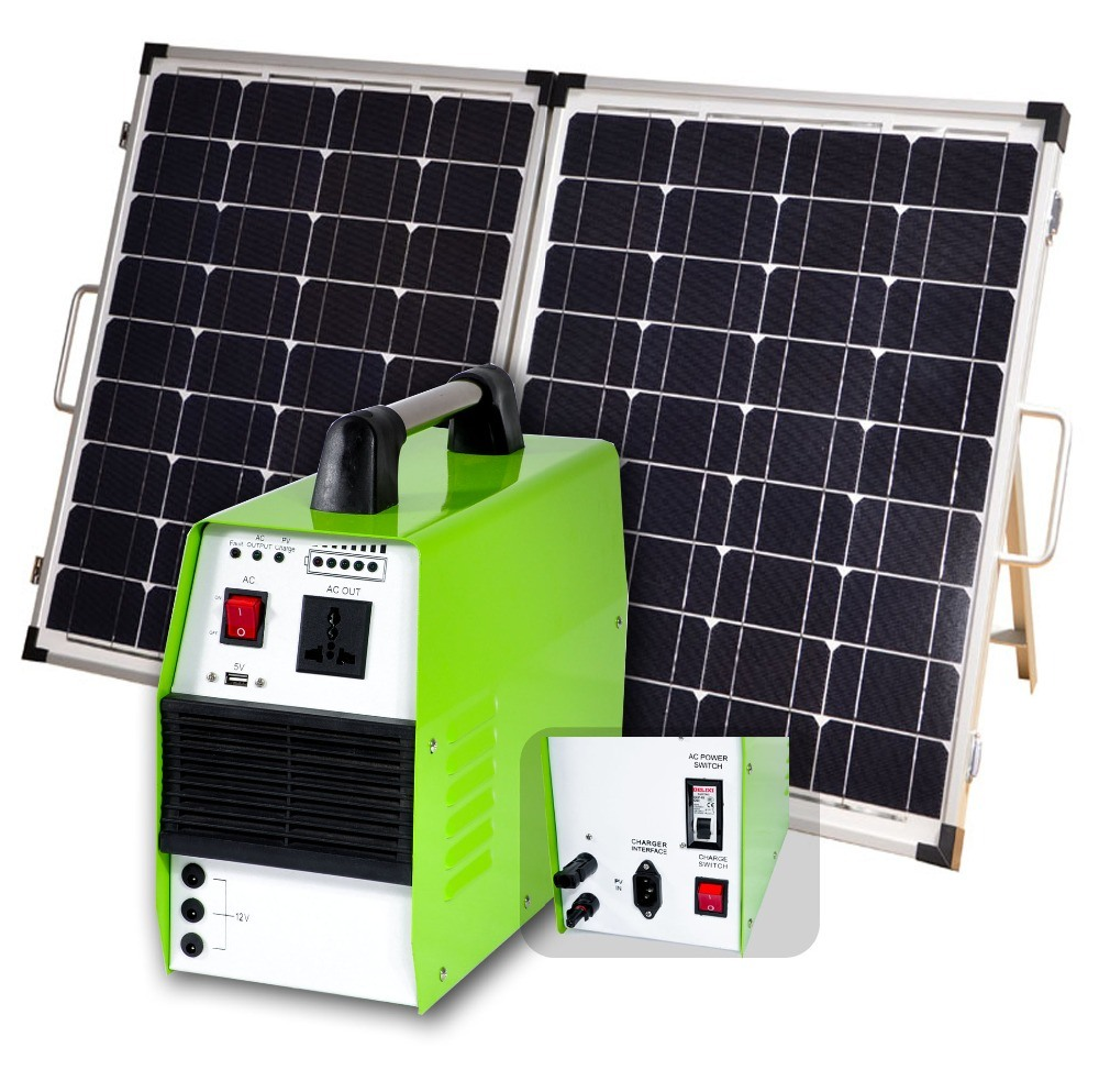 150W/300W/500W Portable Solar Power System