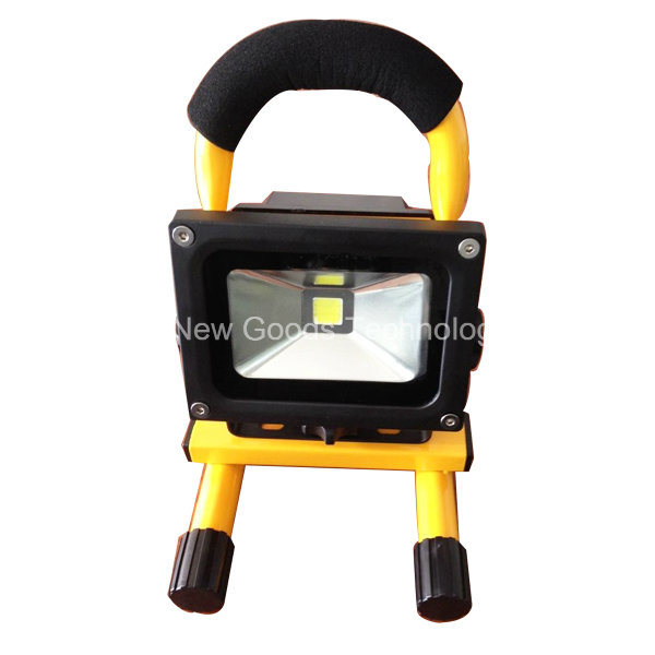 Outdoor Portable Flood Light, Rechargeable RGB LED Floodlight