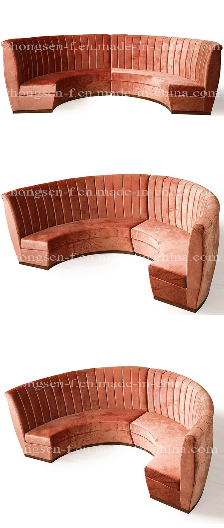 Modern Style Chinese Furniture Leather Living Room Sofa Sectional Sofa