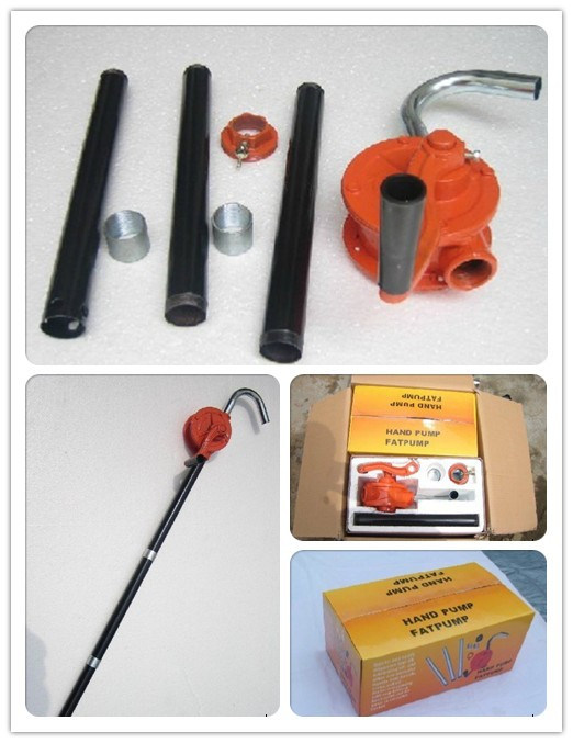 Single-Acting Barrel Oil Pump Rotary Hand Pump