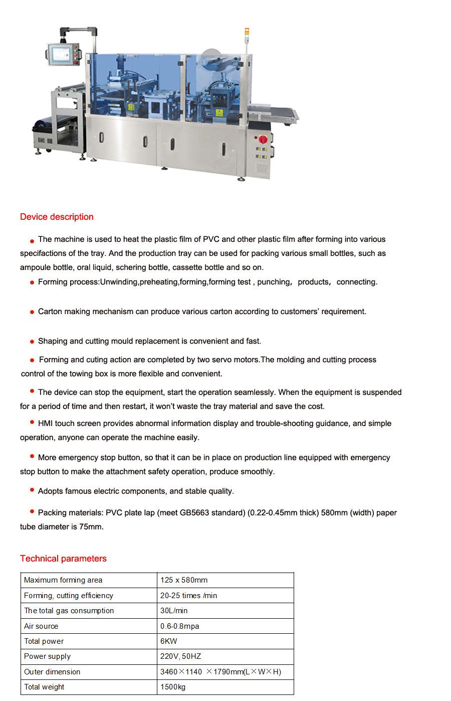 Hot Sale Fully Automatic Carton-Make Machine