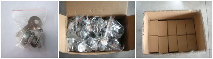 Chrome Plated Zinc Alloy Triangular Cam Lock