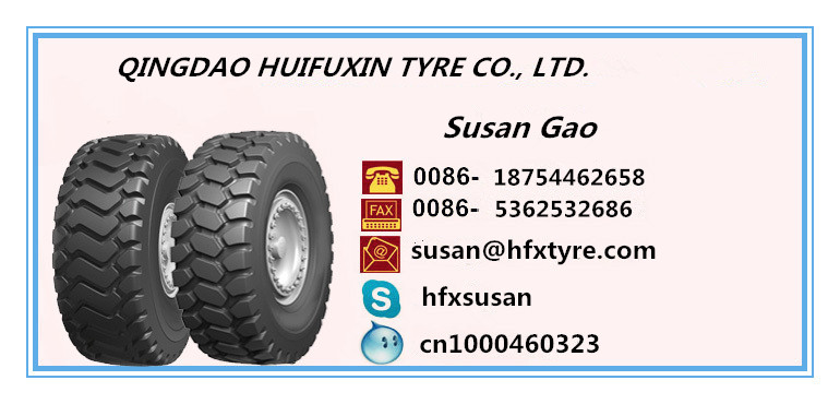Heavy Duty Loader Tire 23.5-25 E-3/L-3 off Road Tires
