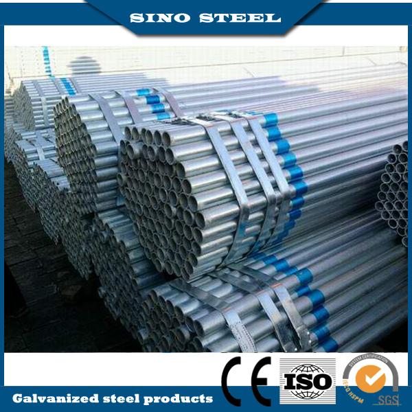 Q235/Q345 50mm out Diameter Pre-Galvanized Steel Round Pipe