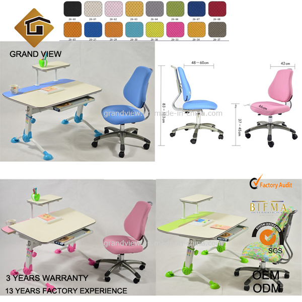 Ergonomic Design Swivel Children Chair (GV-CC01)
