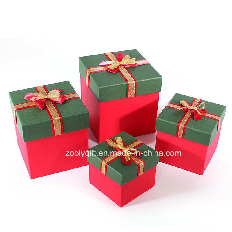 Quality Special Art Paper Ribbon Decoration Paper Gift Boxes