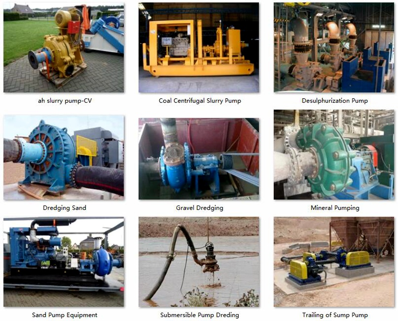 YA Rubber Lined Slurry Pumps