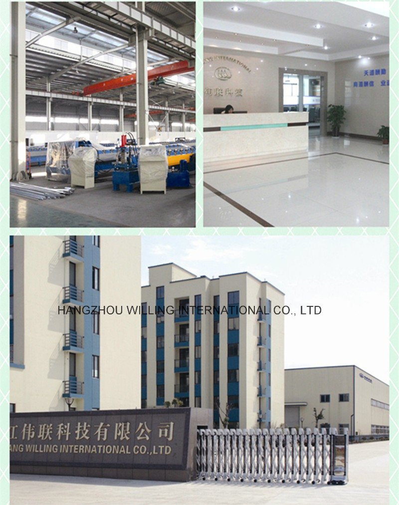 Steel Floor Deck Post Cutting Cold Roll Forming Machine