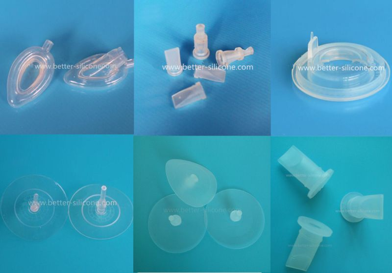 Medical Liquid Silicone Gas Mask, LSR Gas Mask for Oxygen Respirator