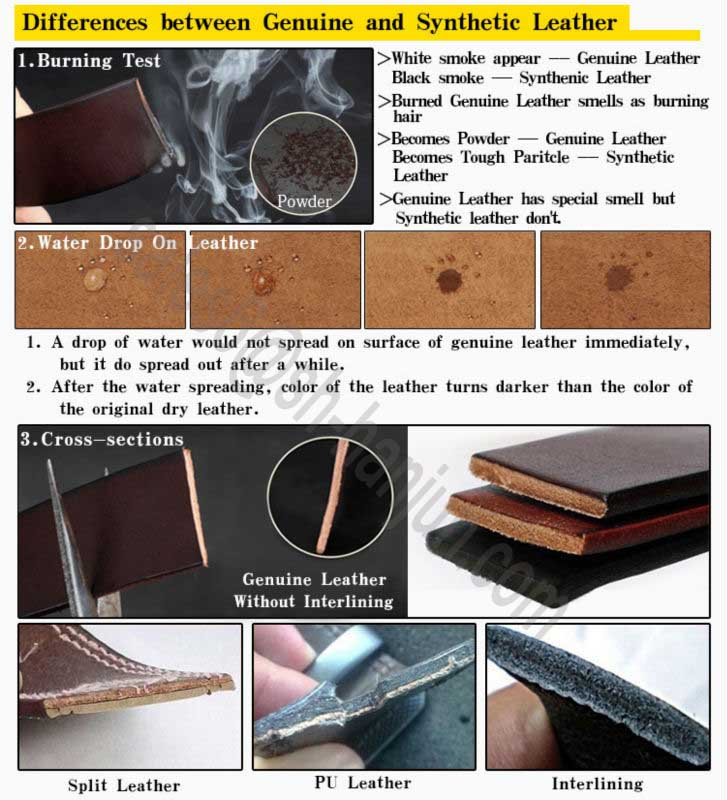 Top Quality Durable Real Genuine Leather Strap with Pin Buckle